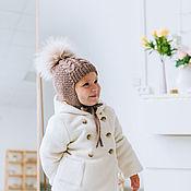 handmade. Livemaster - original item Children`s hat hand knitted Merino (available and to order). Handmade.
