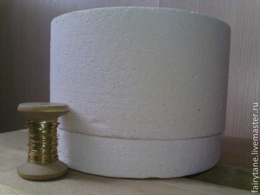 Катушка стандартная, представлена для сравнения размеров