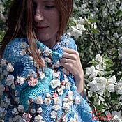 Аксессуары handmade. Livemaster - original item Crochet shawl