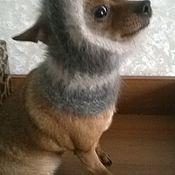 Для домашних животных, ручной работы. Ярмарка Мастеров - ручная работа Снуд для собачки. Handmade.