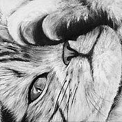Картины и панно ручной работы. Ярмарка Мастеров - ручная работа Поиграем?.. (18 х 24 см). Handmade.