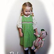 Работы для детей, ручной работы. Ярмарка Мастеров - ручная работа Сарафан для девочки в стиле бохо. Handmade.