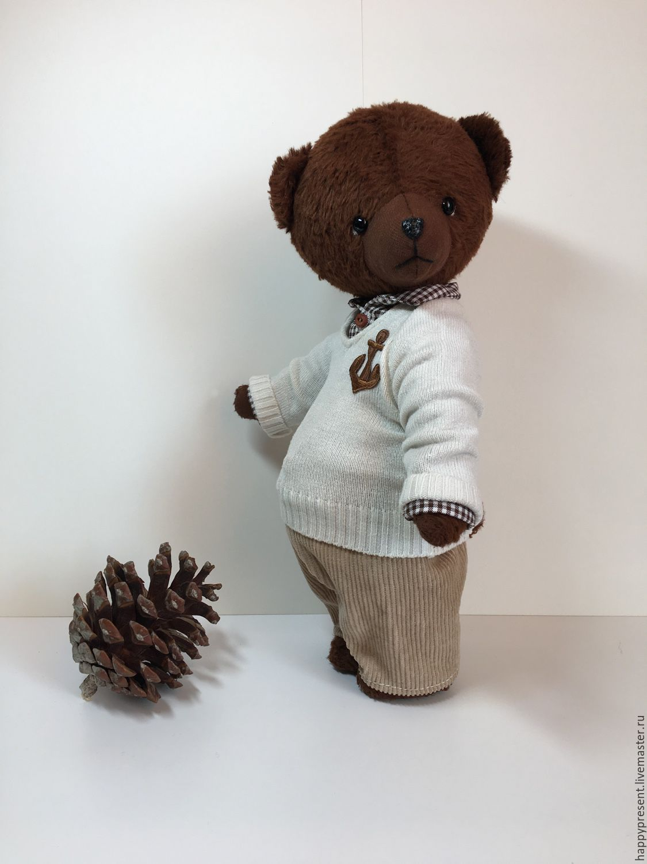 Мишка тедди Марк (29 cм), Игрушки, Москва, Фото №1