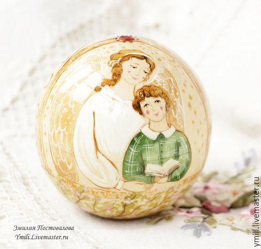 Авторская коллекционная работа из дерева. Уютная игрушка для  интерьера. Воспоминание о детстве. Подарок мальчику, беременной женщине.