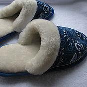 Обувь ручной работы handmade. Livemaster - original item Sheepskin Slippers
