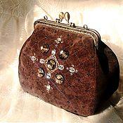Сумки и аксессуары handmade. Livemaster - original item Cosmetic bag on the clasp