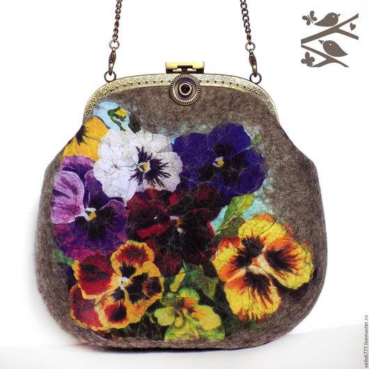Женские сумки ручной работы. Ярмарка Мастеров - ручная работа. Купить Сумочка для путешествий. Handmade. Коричневый, сумка на каждый день