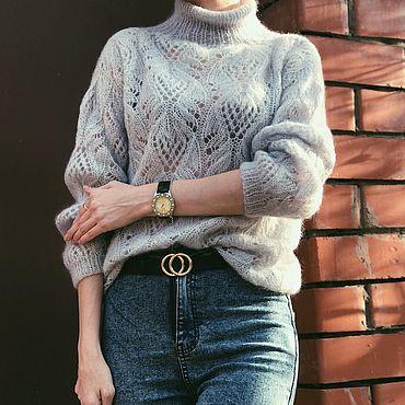 Материалы для творчества ручной работы. Ярмарка Мастеров - ручная работа Мастер-класс по вязанию свитер Charm. Handmade.
