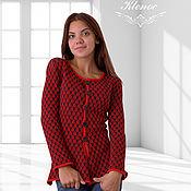 Одежда handmade. Livemaster - original item Women`s knitted jacket