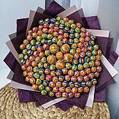 Букеты ручной работы. Ярмарка Мастеров - ручная работа Букеты: Букет из чупа-чупсов. Handmade.