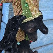 Куклы и игрушки ручной работы. Ярмарка Мастеров - ручная работа Собак - Скоморох. Handmade.