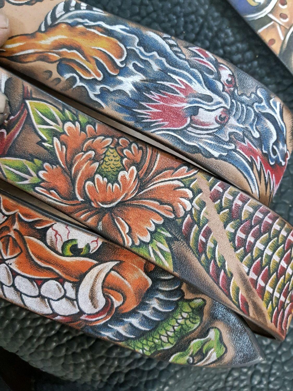 Ремень. Япония в цвете. ТАТУ, Ремни, Тверь, Фото №1