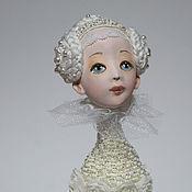 Куклы и игрушки ручной работы. Ярмарка Мастеров - ручная работа ПТИЧКА СНЕЖНАЯ. Handmade.