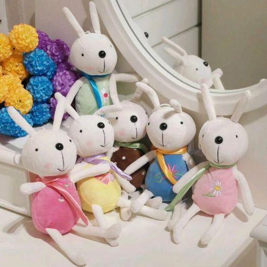Куклы и игрушки ручной работы. Ярмарка Мастеров - ручная работа. Купить Кролик. Handmade. Кролики для кукол, плюшевые кролики