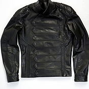 Мужская одежда handmade. Livemaster - original item Men`s outerwear: Custom-made leather jacket. Handmade.