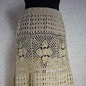 """Одежда ручной работы. Ярмарка Мастеров - ручная работа Юбка """"Анна"""" . Готовая работа. 48-52 размер. Handmade."""