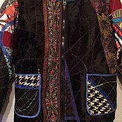 Одежда handmade. Livemaster - original item Women`s patchwork bomber. Handmade.