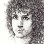 Картины и панно ручной работы. Ярмарка Мастеров - ручная работа Syd Barrett. Сид Барретт. (специальная цена 7000р). Handmade.