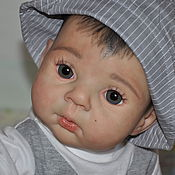 Куклы и игрушки ручной работы. Ярмарка Мастеров - ручная работа Кукла реборн Камиль. Handmade.