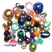 Материалы для творчества handmade. Livemaster - original item 20 grams of Czech Beads Mix multi 00050-0220 glass beads Preciosa. Handmade.