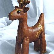 Куклы и игрушки handmade. Livemaster - original item Christmas Coffee reindeer