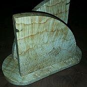 Для дома и интерьера ручной работы. Ярмарка Мастеров - ручная работа Салфетница кап клен. Handmade.
