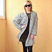 Одежда handmade. Livemaster - original item cardigan coat knitwear with fashionable print.. Handmade.