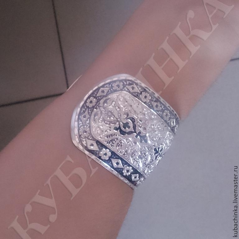 Кубачинские браслеты купить в москве
