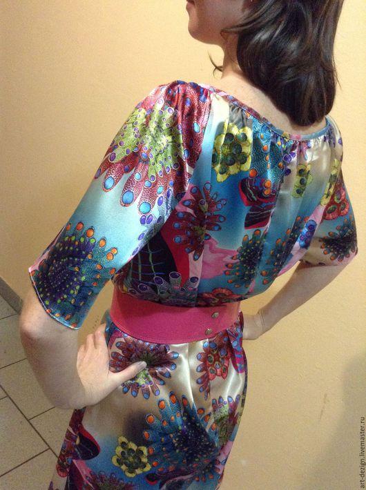 Платья ручной работы. Ярмарка Мастеров - ручная работа. Купить нарядное платье. Handmade. Фуксия, вечер