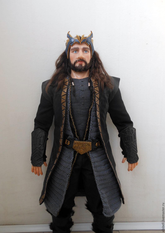 Thorin Oakenshield (portrait character doll) 70cm, Portrait Doll, Barnaul,  Фото №1