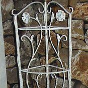 Для дома и интерьера handmade. Livemaster - original item Forged white bookcase. Handmade.