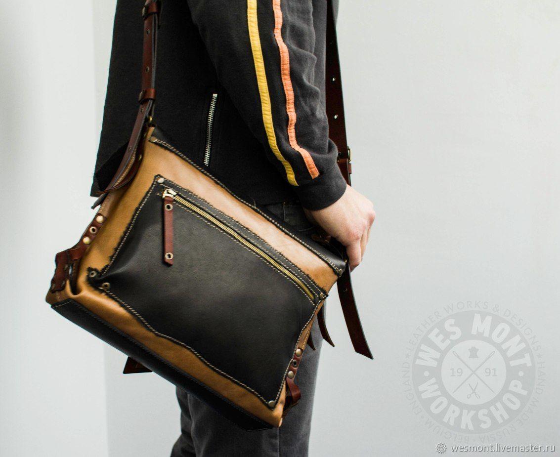 8a3a6307441e Купить Сумка кожаная универсальная ГАУЧО Мужские сумки ручной работы. Сумка  кожаная универсальная ГАУЧО-4 Эксклюзивная, авторская работа.