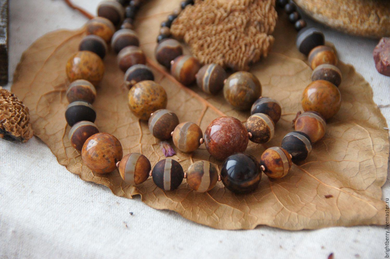 фото изделий украшений бусы из натуральных камней уникален тем, что