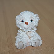 Куклы и игрушки ручной работы. Ярмарка Мастеров - ручная работа Мини мишка тедди Теодор. Handmade.