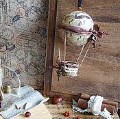 Для дома и интерьера ручной работы. Ярмарка Мастеров - ручная работа Воздушный шар - На неделю моды.... Handmade.