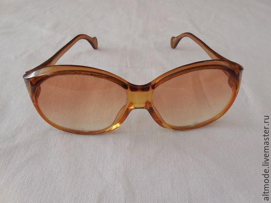 Винтажная одежда и аксессуары. Ярмарка Мастеров - ручная работа. Купить Винтажные солнечные очки Marwitz, пластик, Зап.Германия, 70-е. Handmade.