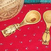 """Посуда ручной работы. Ярмарка Мастеров - ручная работа ложечки """"Букашки"""" из дерева. Handmade."""