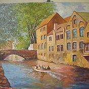 Картины и панно ручной работы. Ярмарка Мастеров - ручная работа Бельгия. Канал. Handmade.