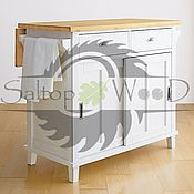 Для дома и интерьера handmade. Livemaster - original item Kitchen Cabinet. Handmade.