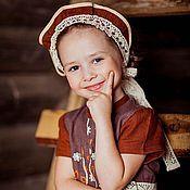 Работы для детей, ручной работы. Ярмарка Мастеров - ручная работа Девичья повязка БАРЫШНЯ. Handmade.