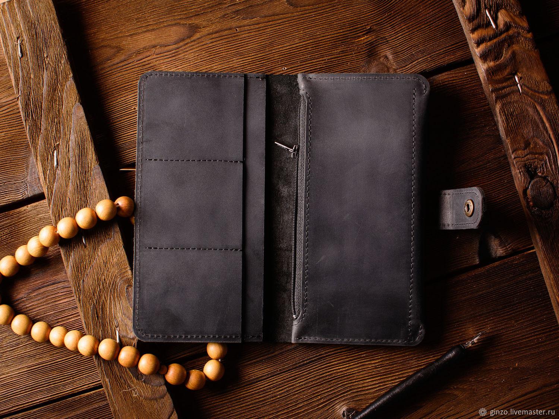 27d69dc2ece2 Купить Кожаный кошелек - · Кошельки и визитницы ручной работы. Кожаный  кошелек -Esquire- портмоне для денег из кожи ...