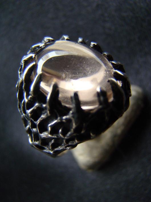 Кольца ручной работы. Ярмарка Мастеров - ручная работа. Купить Кольцо с топазом. Handmade. Серебряный, серебро
