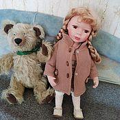 Куклы и пупсы ручной работы. Ярмарка Мастеров - ручная работа Кареглазка в пальто. Handmade.