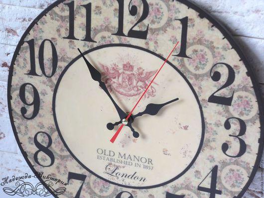 """Часы для дома ручной работы. Ярмарка Мастеров - ручная работа. Купить Часы настенные """"Городская легенда"""". Handmade. Часы настенные"""