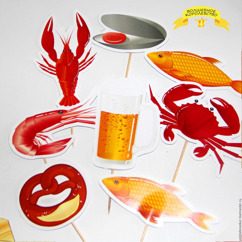 Аксессуары для морской вечеринки, купить