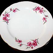 Винтаж handmade. Livemaster - original item Set of 6 large table plates