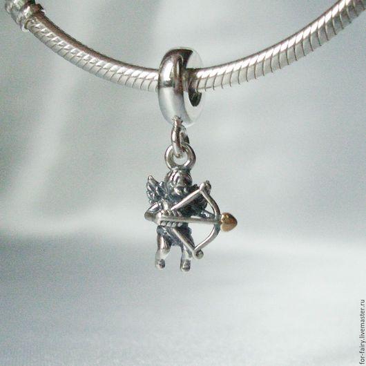 Для украшений ручной работы. Ярмарка Мастеров - ручная работа. Купить Бусина из серебра. Handmade. Pandora, pandora s925ale