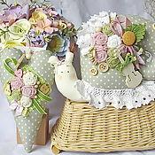Куклы и игрушки ручной работы. Ярмарка Мастеров - ручная работа Улитка с сердечком Музыка шебби. Handmade.