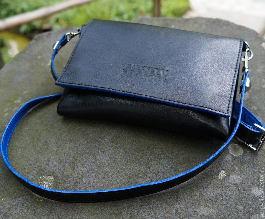 75511176cfeb Купить Сумка-портмоне Кошельки и визитницы ручной работы. Сумка-портмоне  AD s Nature Blue.