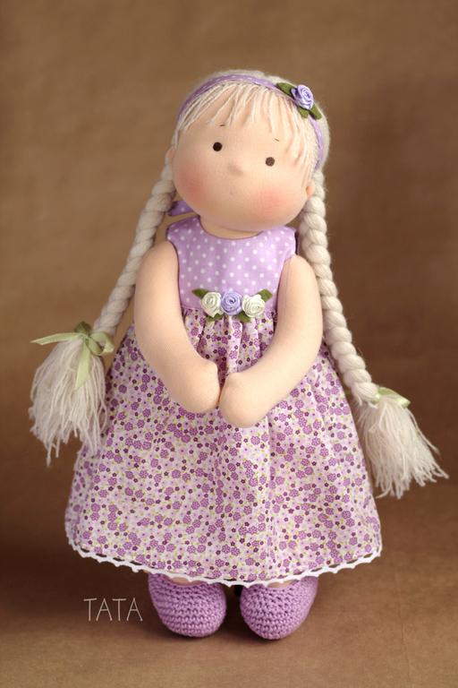 Вальдорфская игрушка ручной работы. Ярмарка Мастеров - ручная работа. Купить Игровая кукла. Handmade. Вальдорфская кукла, детская кукла